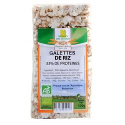 Galette de Riz 33% protéines
