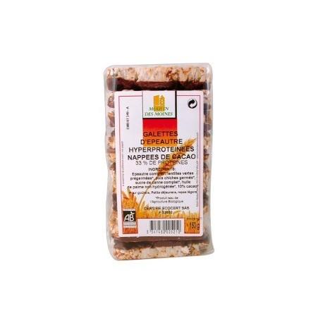 Galette Epeautre Cacao 33% protéines